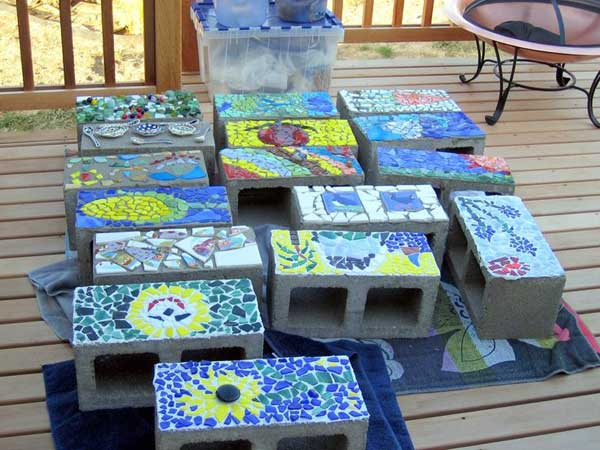 28 Stunning Mosaic Projects For Your Garden