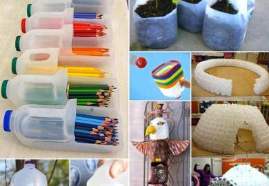 Decoration Ideas With Used Bottles Recycled Things