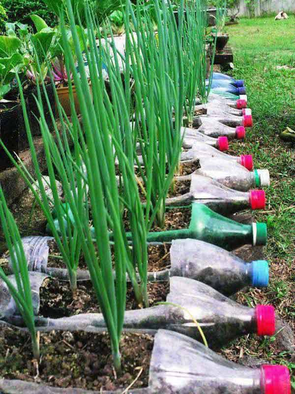 40 DIY Decorating Ideas With Recycled Plastic Bottles