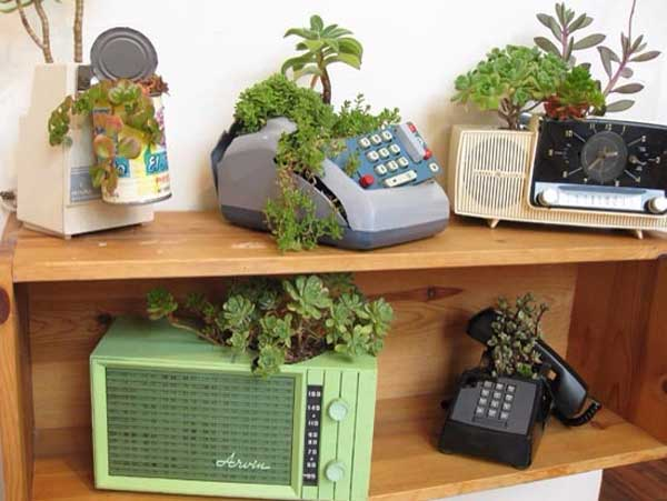 24 Whimsical DIY Recycled Planting Pots On The Cheap Amazing DIY