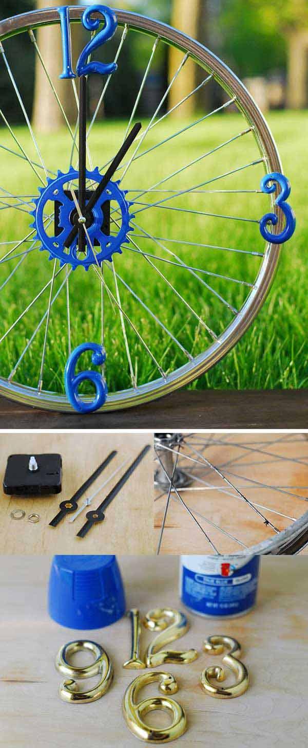21 Brilliant Diy Ways Of Reusing Old Bike Wheels Amazing