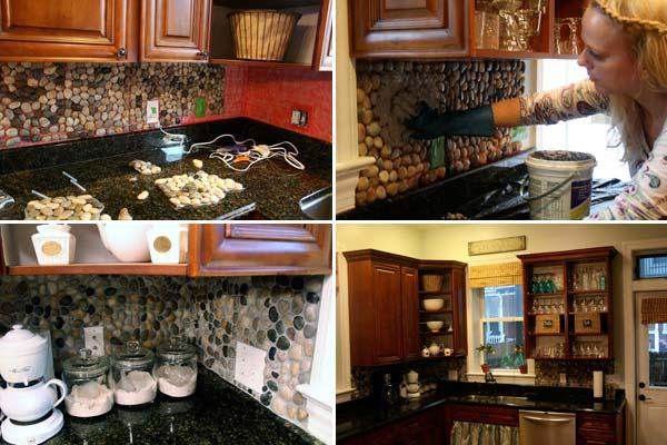 24 Low Cost DIY Kitchen Backsplash Ideas And Tutorials Amazing DIY