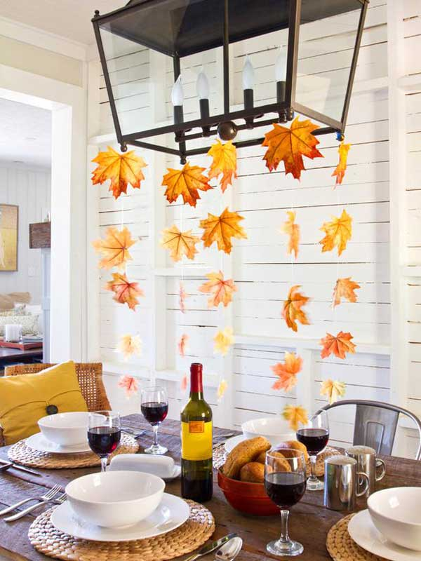Image result for fall leaf decor