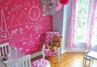 Kids Room Paint Ideas Green