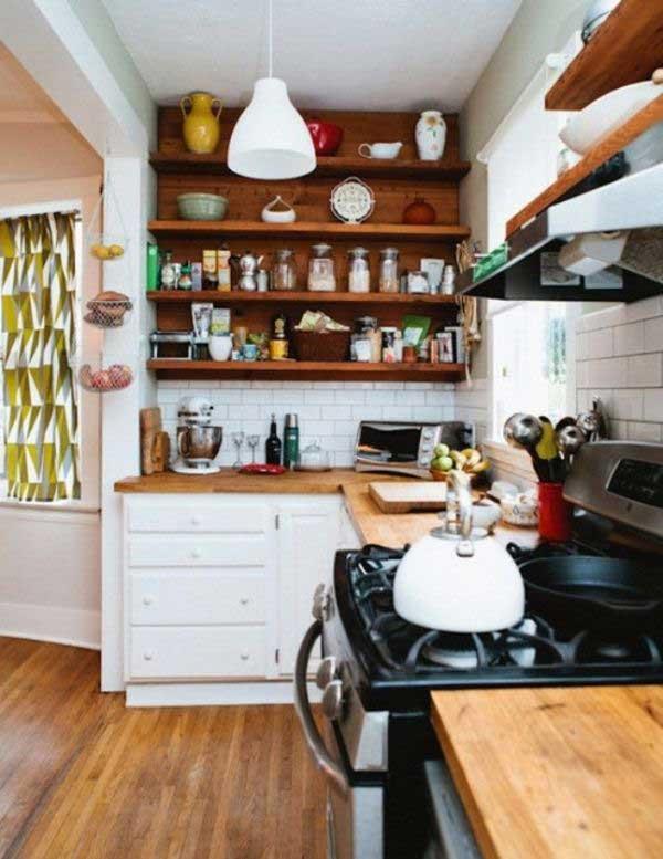 38 Cool Space Saving Small Kitchen Design Ideas Amazing