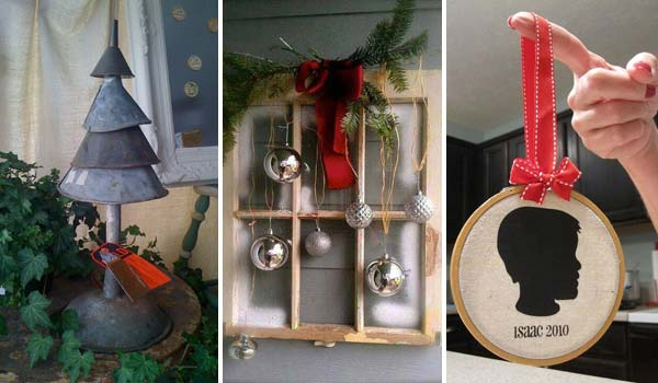 old fashioned christmas decorations homemade. Black Bedroom Furniture Sets. Home Design Ideas