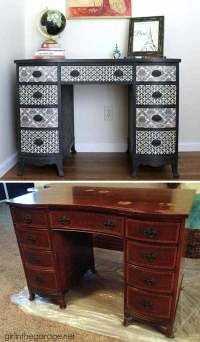 27 Cool DIY Furniture Makeovers with Wallpaper - Amazing ...