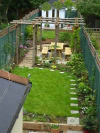 18 Clever Design Ideas for Narrow and Long Outdoor Spaces ...