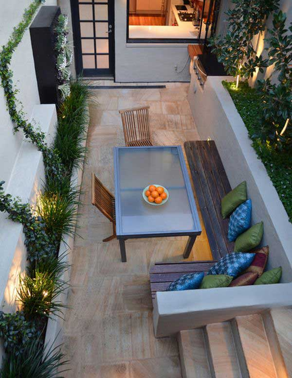 But a bigger question looms — w. 18 Clever Design Ideas for Narrow and Long Outdoor Spaces
