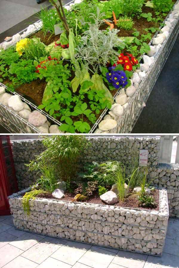 Garden Bed Edging Ideas Woohome