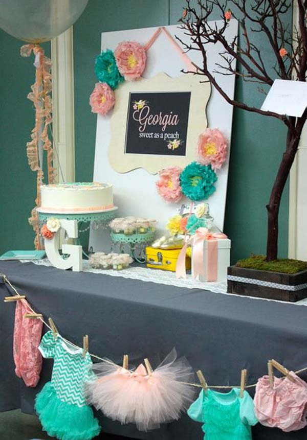22 Cute & Low Cost DIY Decorating Ideas for Baby Shower