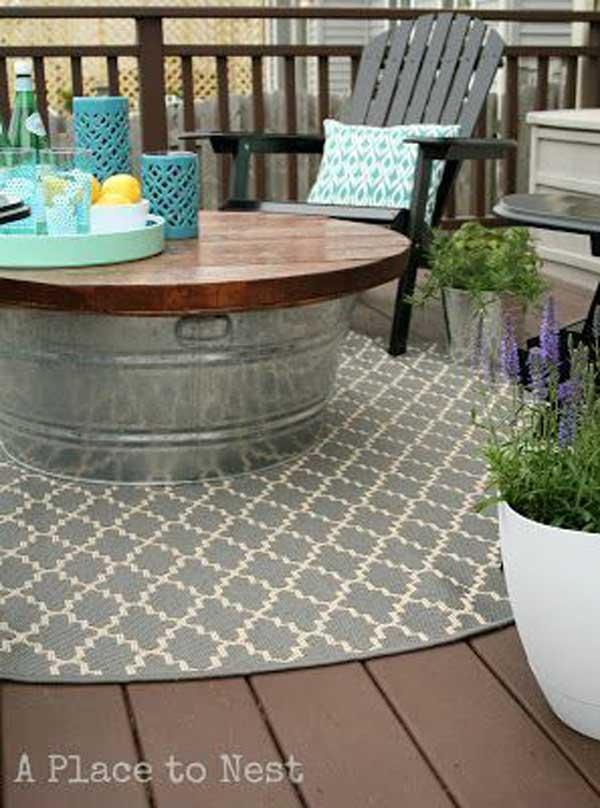 37 Ingenious DIY Backyard Furniture Ideas Everyone Can
