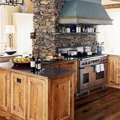 Kitchen Stone Over Sink Light 22 Stunning Ideas Bring Natural Feel Into Modern Homes Rustic Woohome 12