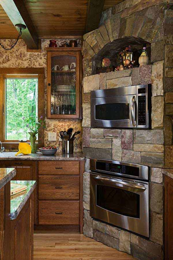 22 Stunning Stone Kitchen Ideas Bring Natural Feel Into Modern Homes  Amazing DIY Interior
