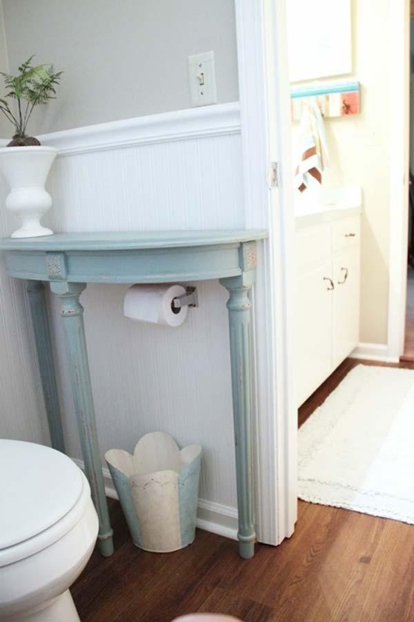 31 Amazingly DIY Small Bathroom Storage Hacks Help You