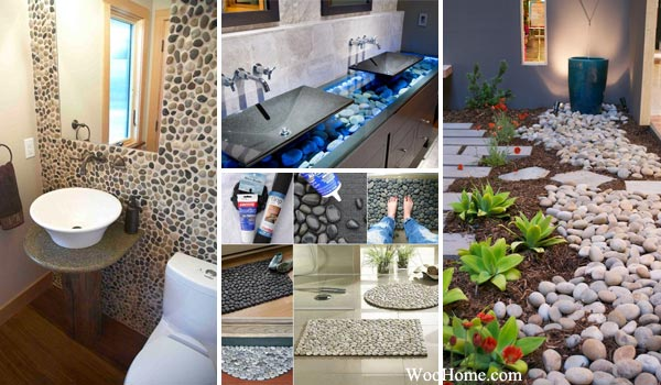 36 Amazing Ideas Adding River Rocks To Your Home Design Amazing