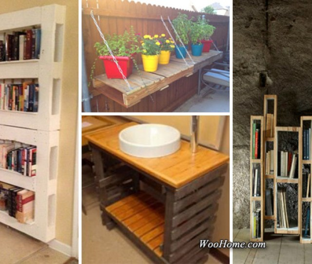 Easy And Cheap Pallet Storage Projects You Can Make Yourself