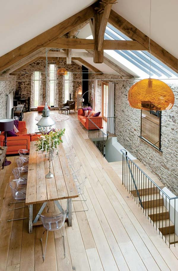 32 Wonderful Ideas to Design Your Space with Exposed