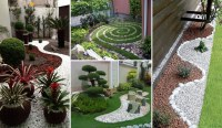 25 Cool Pebble Design Ideas for Your Courtyard - Amazing ...