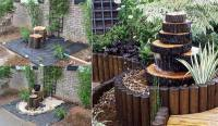 Build a Log or Wood Slice Fountain for Backyard - Amazing ...