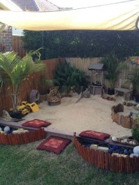 Turn The Backyard Into Fun and Cool Play Space for Kids