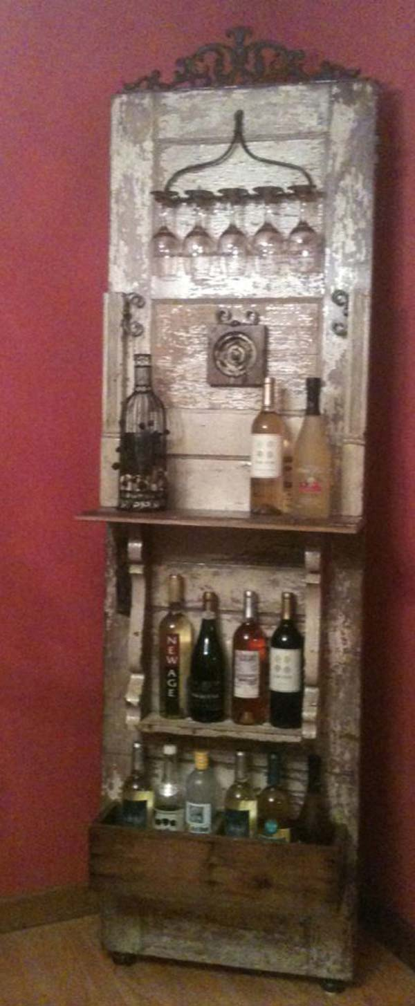 The Best 35 NoMoney Ideas To Repurpose Old Doors  page 2