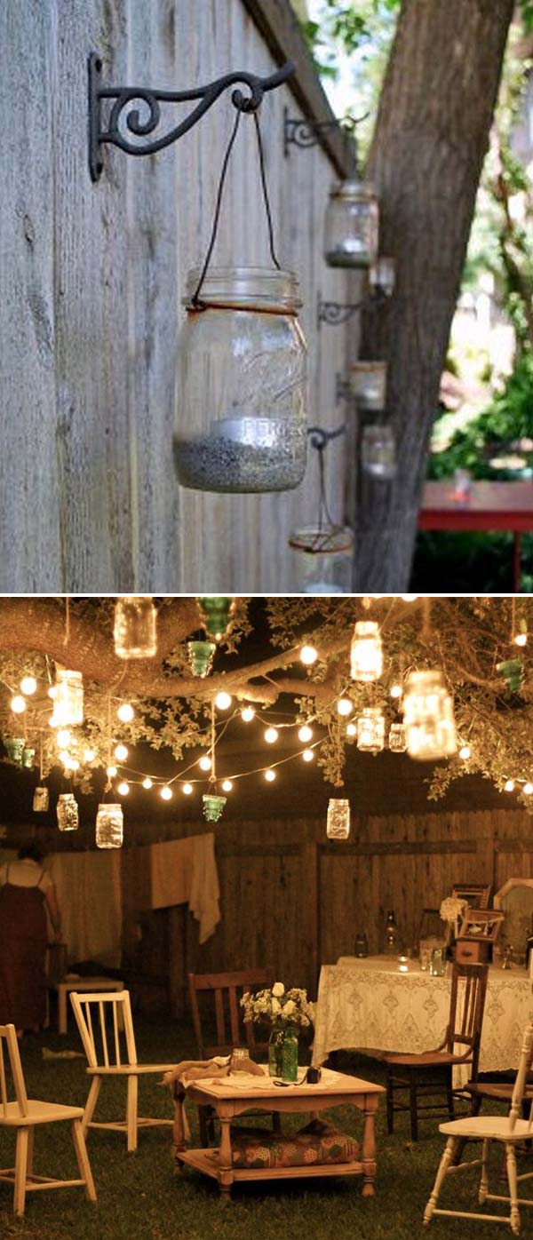 15 Diy Backyard And Patio Lighting Projects