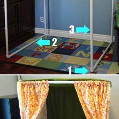 Race Car Office Chair Breakfast Table And Chairs 20 Easy Pvc Pipe Projects For Kids Summer Fun - Amazing Diy, Interior & Home Design Page 2