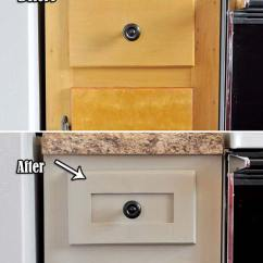 Facelift For Kitchen Cabinets Booth 20 Inexpensive Ways To Dress Up Your Home With Molding ...