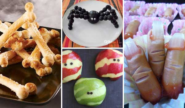 scary halloween snack hacks