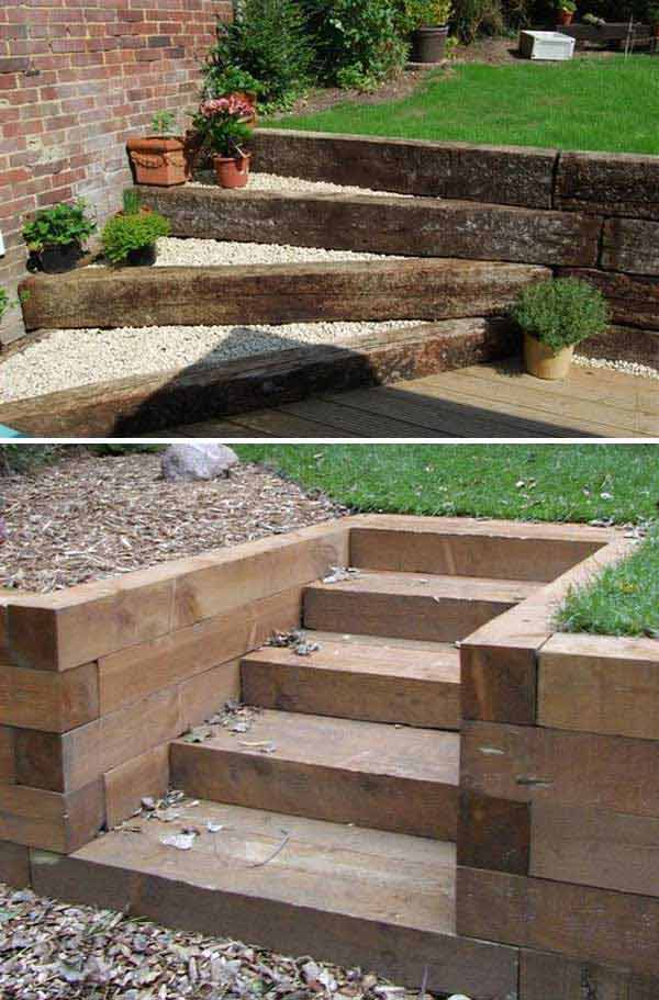 diy ideas make garden