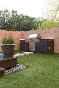 Adding a Barbecue Grill Area To Summer Yard or Patio ...
