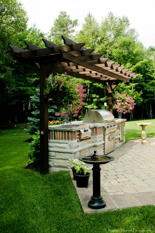 Designing your new home can be a major project, but the benefits will make all the work worthwhile. Adding a Barbecue Grill Area To Summer Yard or Patio - Amazing DIY, Interior & Home Design