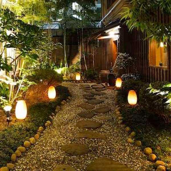 DIY Pathway Lighting Ideas For Garden And Yard Amazing DIY Interior Amp Home Design
