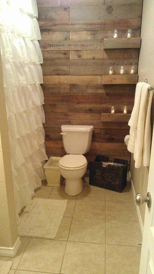 30 Awesome Ideas to Add Rustic Style To Bathroom  Amazing