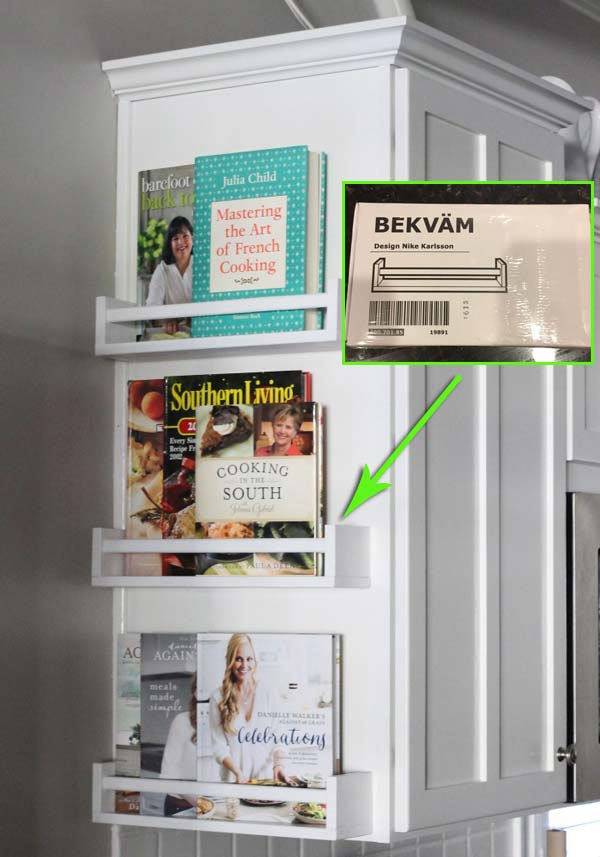 kitchen shelf ideas hinges interesting and practical shelving for your amazing instead of building shelves buy three spice at ikea paint them white before you install the end cabinet cookbooks