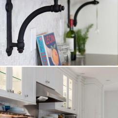 Kitchen Shelf Ideas Brandsmart Appliance Packages Interesting And Practical Shelving For Your Amazing Add A Level Of Shelves With Built In Lighting On The Backsplash