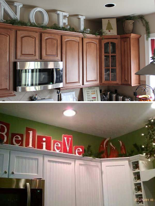 how to decorate your kitchen bridge faucets 20 stylish and budget friendly ways above they will bring holiday spirit