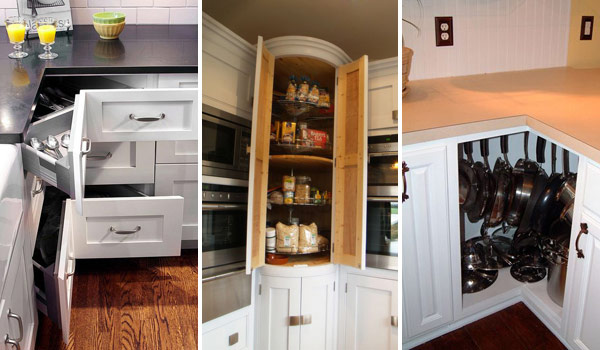 kitchen corner cabinet granite fabulous hacks to utilize the space of cabinets