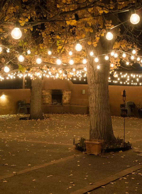 Hooks Outdoor String Lights