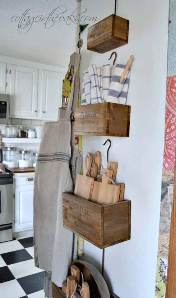 kitchen table top design maker 22 farmhouse-inspired storage ideas - amazing diy ...