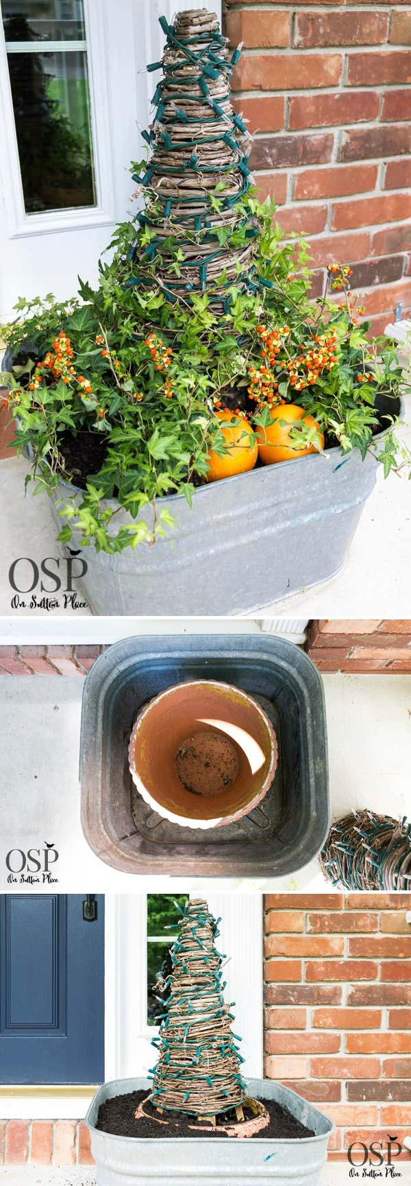 Creative Ideas to Use Galvanized Buckets in Holiday Decor