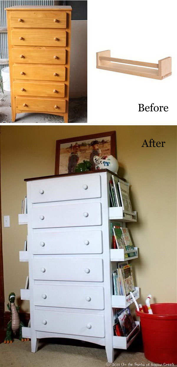 Awesome and Lowbudget Ways To Repurpose Old Furniture