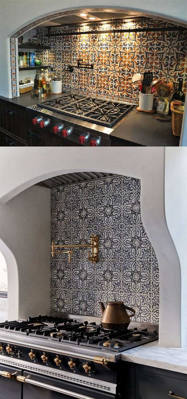 decorating ideas with spanish tiles