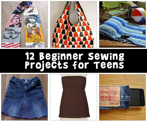 Teen Sewing Patterns Projects And Crafts For Teenagers