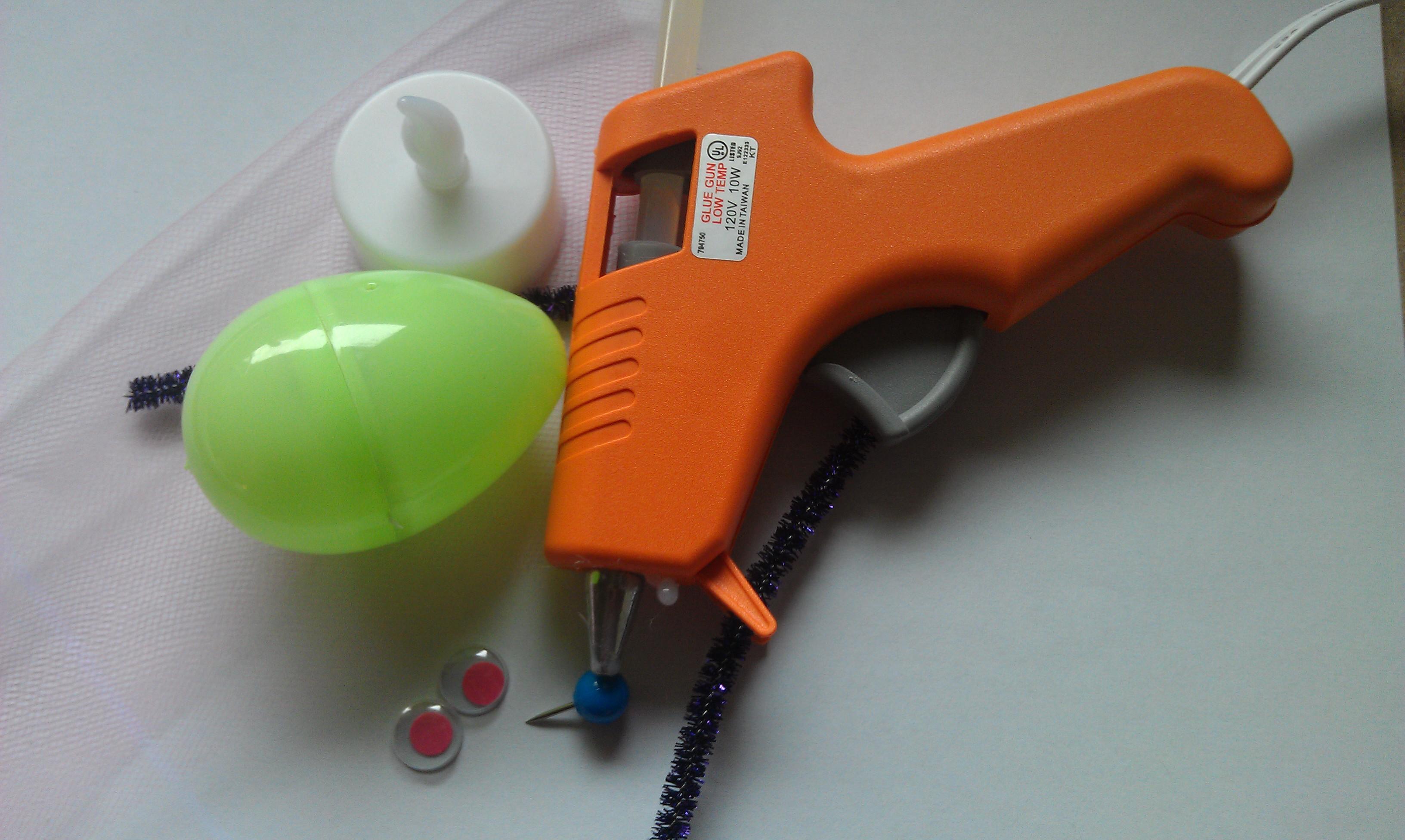 Easter Egg Lightning Bug Craft Supplies
