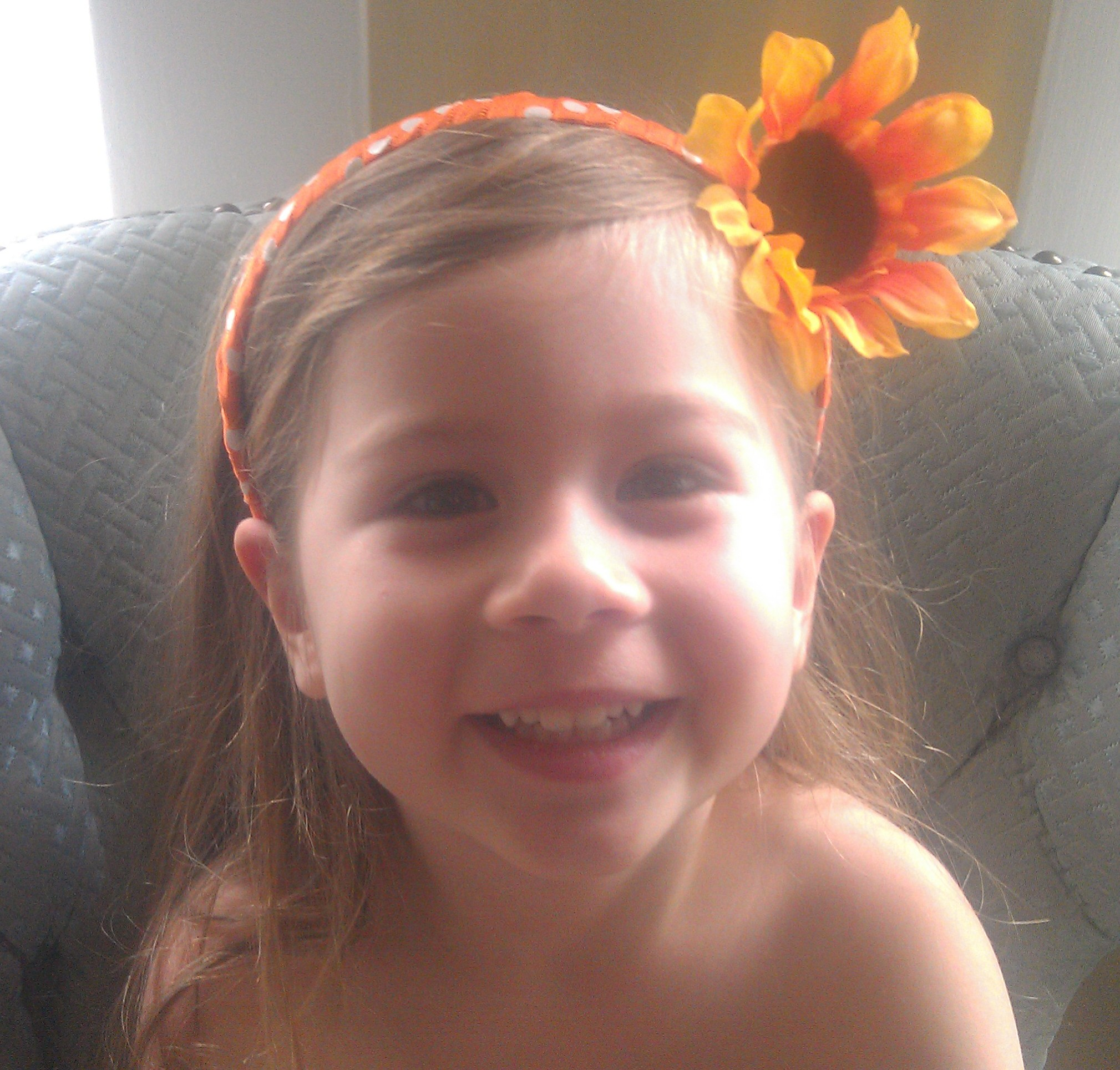 Dollar Store Craft Floral Headband For Kids