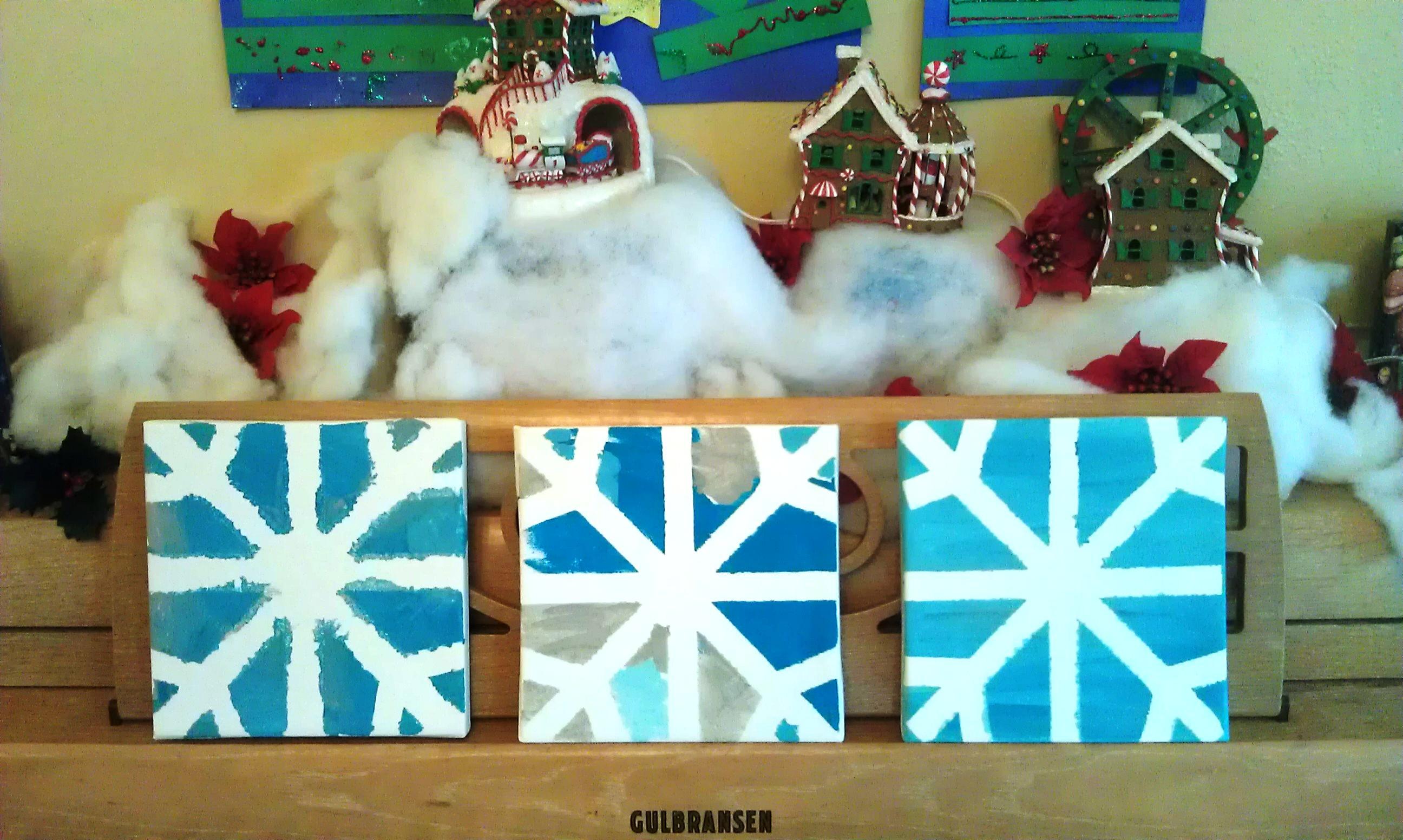 Christmas Snowflake Craft
