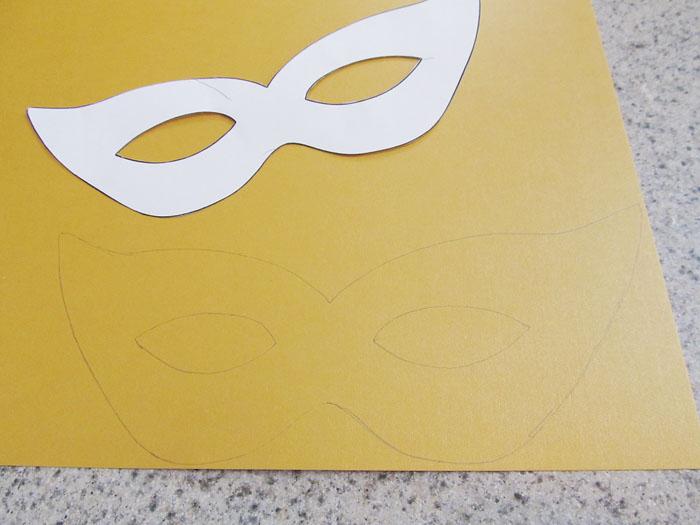 Mardi Gras Mask Craft And Template Woo Jr Kids Activities