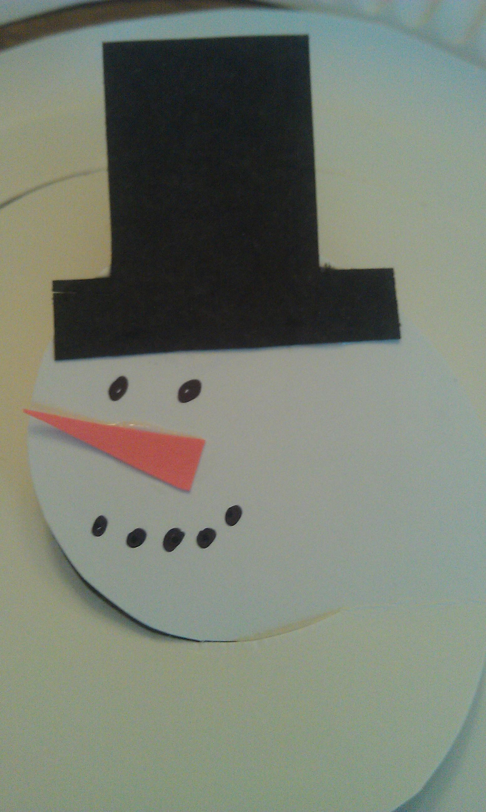Snowman Mobile Face